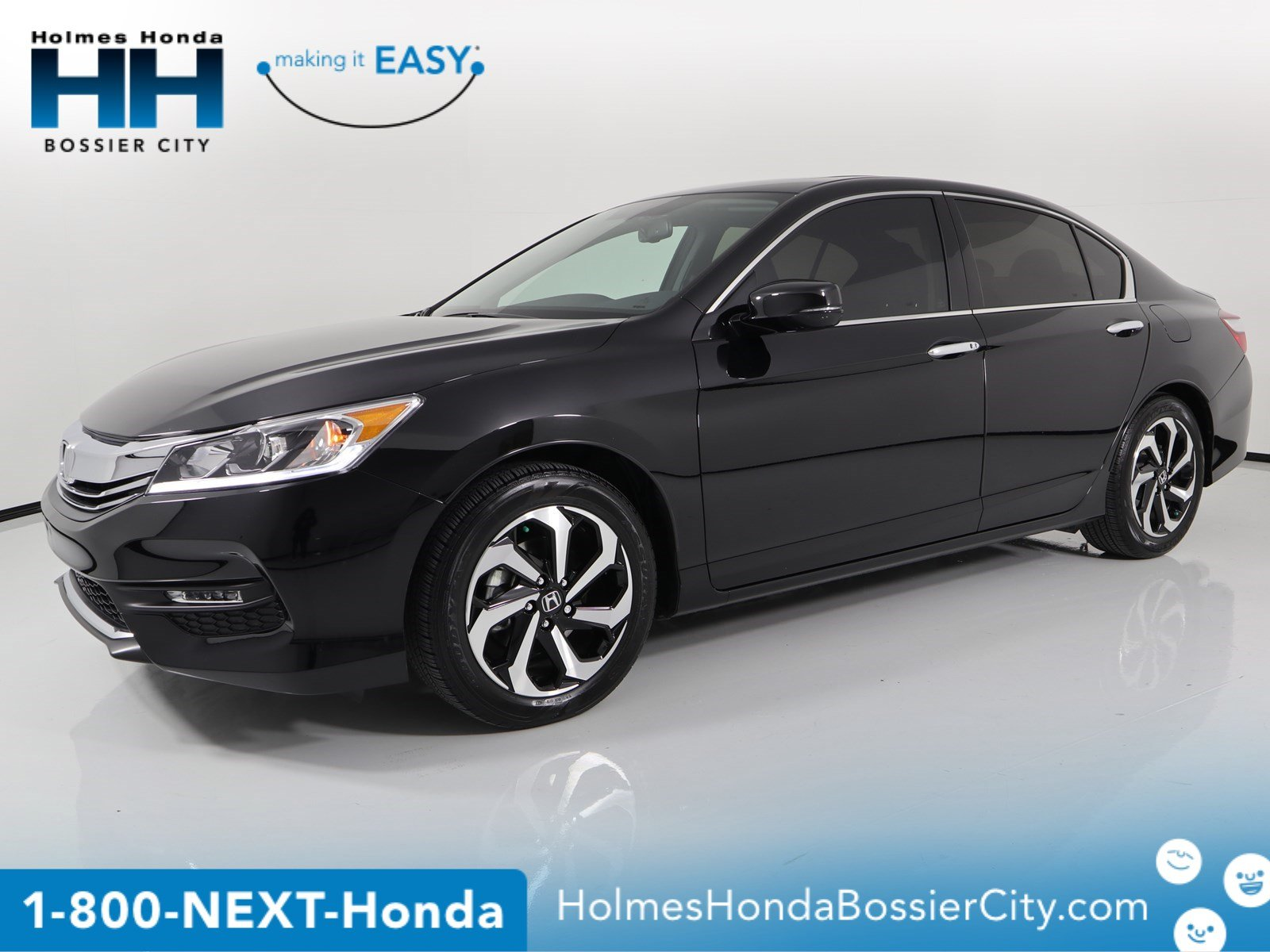 Certified Pre Owned 2017 Honda Accord Sedan Ex L V6